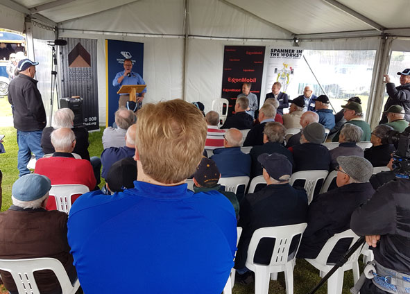 Speeches by Australian Mens Shed association, Greg Hunt the local Member